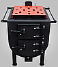 Печь булерьян Техно с духовкой 12 кВт