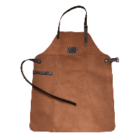 Фартук кожаный фирменный для мангала Holla Grill, фото 1