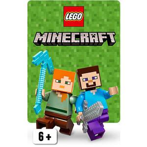 Конструктори LEGO Minecraft