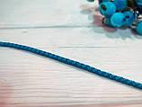 Коллекционная выставочная ринговка для собак голубая Blue Light от Pets Couturier SIMBA, фото 4