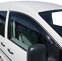 Ветровики (2 шт, DDU) Volkswagen Caddy 2004-2010 гг. / Дефлекторы окон (ветровики) Фольксваген Кадди