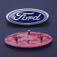 """Эмблема  """"Ford""""  148х60мм Focus Зад  в сборе скотч 3M+направляющие (Польша)"""