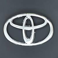 "Эмблема  ""Toyota""  98х64мм пластик/2 пукли"