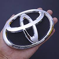 "Эмблема  ""Toyota"" 140х95мм пластик/9 пукли (Corolla 2009-2013 г. перед)  (Польша) OEM75312-0250"