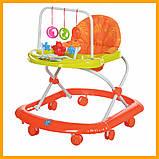 Дитячі ходунки з ігровою панеллю M 0591A 7 кольорів ходулі Дитячі, фото 7