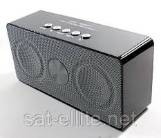 Портативная bluetooth колонка MP3 WS-768BT Black