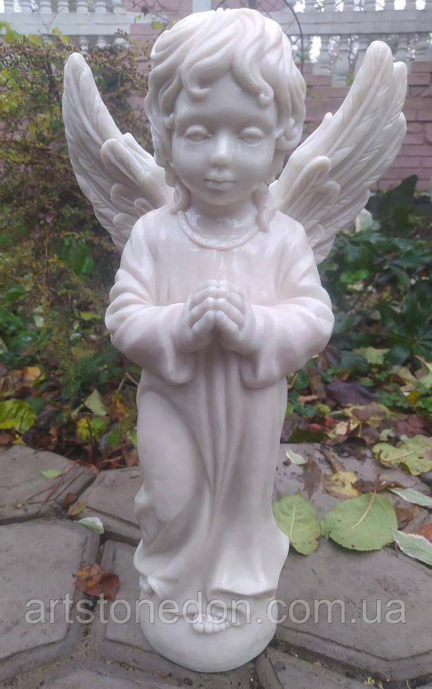 Скульптура Ангел из мрамора №89 высота 50 см
