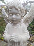 Скульптура Ангел из мрамора №89 высота 50 см, фото 4