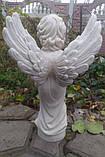Скульптура Ангел из мрамора №89 высота 50 см, фото 5