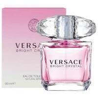 Versace Bright Crystal -  Набор (туалетная вода 50 + лосьон-молочко для тела 50 + гель для душа 50), женская