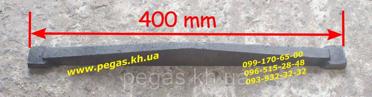 Колосник посилений, чавунне лиття (400 мм) печі, мангали, барбекю, котли