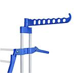 Сушарка для білизни Так зручно підлогова | Універсальна складна вішалка для одягу і речей вертикальна, фото 5