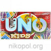 """Настольная игра """"UNO Kids"""" (Уно), 12 вариантов"""