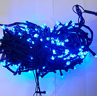 Гирлянда диод 300LED Синяя RD-9030 | Новогодняя светодиодная бахрома