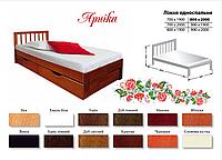 Кровать Арника (массив бука)