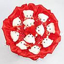 """Очаровательный подарочный букет из игрушек """"Мишки"""", фото 2"""
