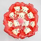 """Очаровательный подарочный букет из игрушек """"Мишки"""", фото 8"""