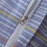 Євро комплект постільної білизни з компаньйоном S334, фото 5