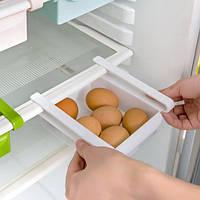 Подвесной органайзер для холодильника, ящики на полки Подвесные Clefers универсальный белый