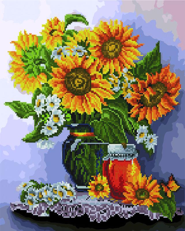 Картина по номерам Brushme Солнечный натюрморт