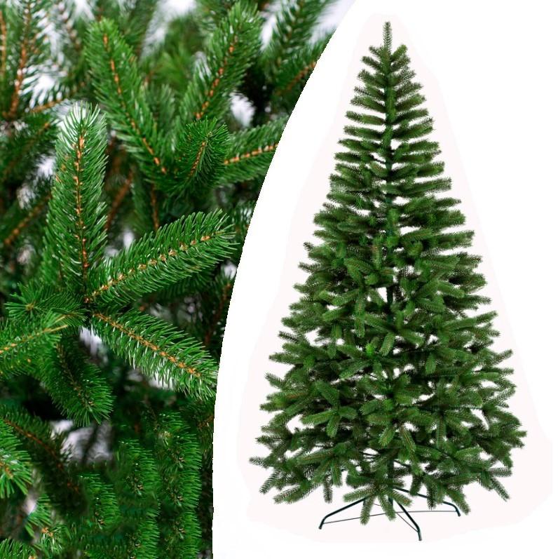Елка искусственная Литая Буковельская зеленая 1,5м   Новогодняя пушистая ель металл