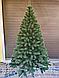 Елка искусственная Литая Буковельская зеленая 1,5м   Новогодняя пушистая ель металл, фото 2
