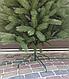 Елка искусственная Литая Буковельская зеленая 1,5м   Новогодняя пушистая ель металл, фото 3