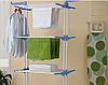 Стойка, вешалка сушилка для белья, для одежды Garment rack with wheels, фото 6