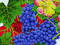 Алмазная мозаика Осенний виноград