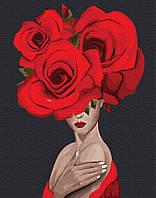 "Картина по номерам Brushme ""Королева роз"""