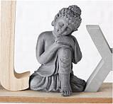 Декоративний напис з фігурою Будди (Home/Relax) МДФ 38*16 см, фото 6