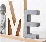 Декоративний напис з фігурою Будди (Home/Relax) МДФ 38*16 см, фото 4