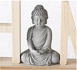 Декоративний напис з фігурою Будди (Home/Relax) МДФ 38*16 см, фото 2