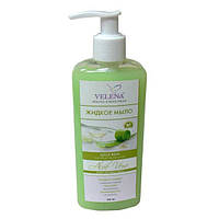 Жидкое косметическое антибактериальное мыло с экстрактом Алоэ VELENA, 250 мл
