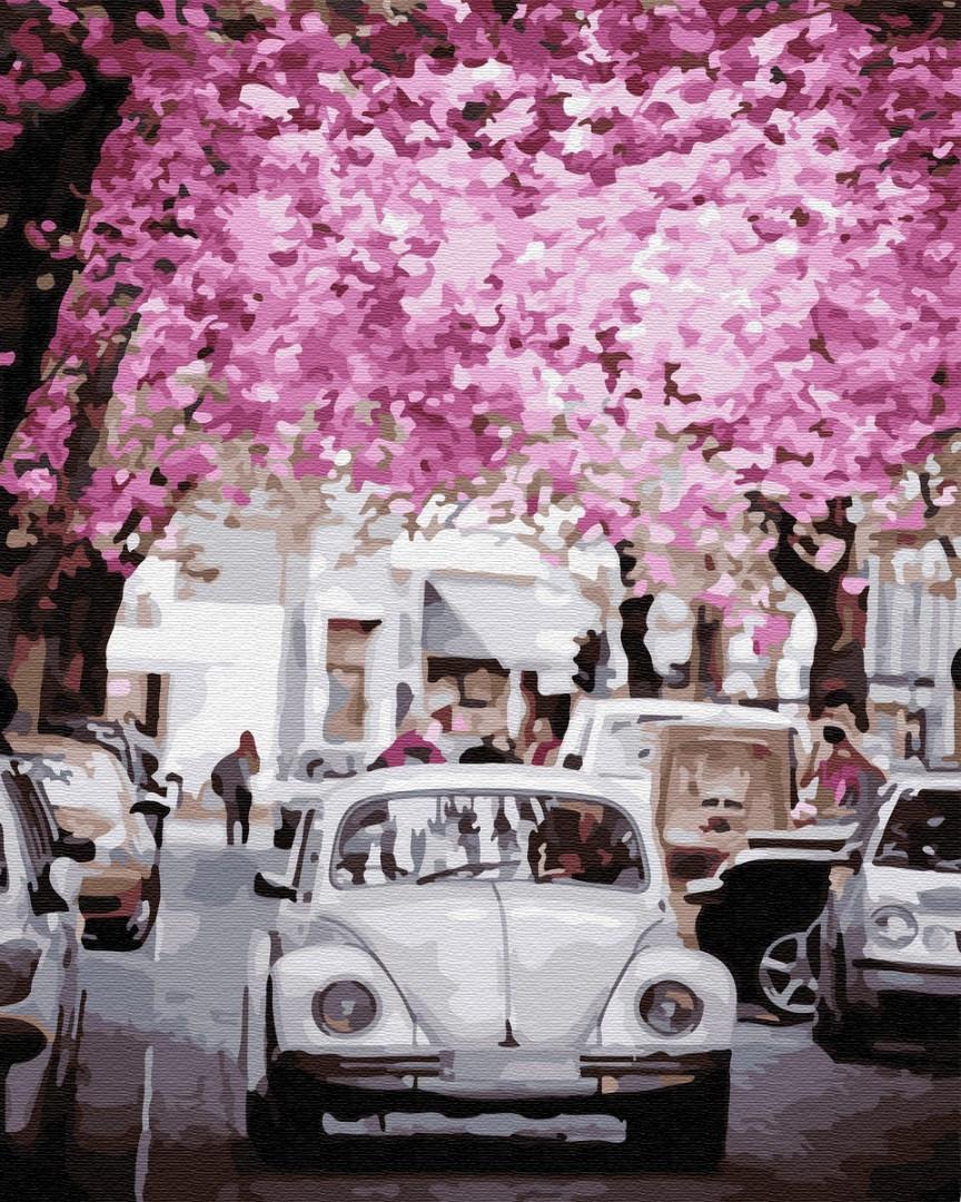 Картина по номерам Brushme В городе весна
