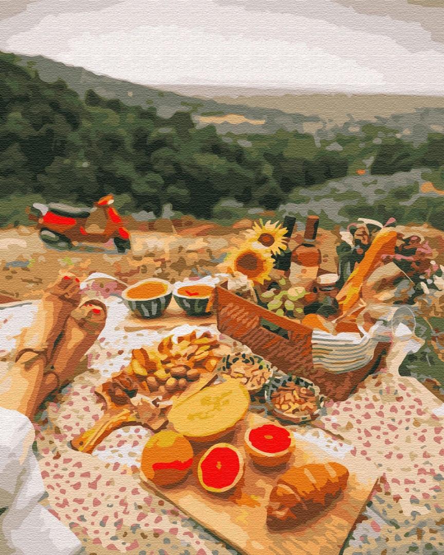 Картина по номерам Brushme Пикник в Провансе