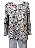 Теплая пижама с начесом женская зимняя домашняя хлопковая комплект кофта и стрейч штаны, фото 2