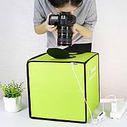 30x30x30см Фотобокс с подсветкой PU5032G, фото 7