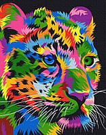 "Картина по номерам Brushme ""Пятнистый леопард"""