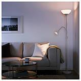 Торшер/світильник для читання, білий ІКЕА NOT НОТ, 803.048.75, фото 3