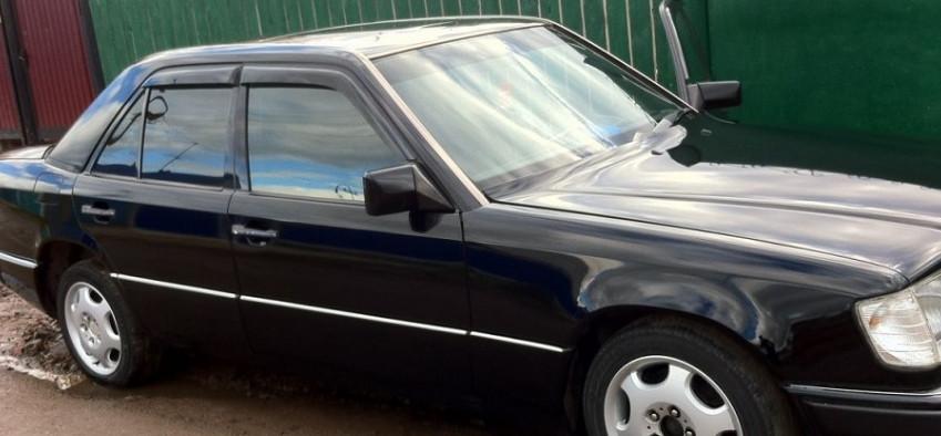 Ветровики Мерседес-Бенц E-Класс   Дефлекторы окон Mercedes Benz E-klasse Sd (W124) 1984-1995