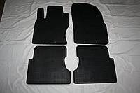 Резиновые коврики (4 шт, Stingray Premium) Ford Focus II 2005-2008 гг. / Резиновые коврики Форд Фокус