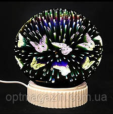 Светильник Магический шар 3D бесконечности, фото 2