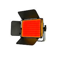 1,2 кВт Набір RGB LED постійного світлодіодного світла TOLIFO GK-S60RGB KIT - панелі 600LEDs 30x19x4,2см, диммер, фото 9