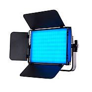 1,2 кВт Набір RGB LED постійного світлодіодного світла TOLIFO GK-S60RGB KIT - панелі 600LEDs 30x19x4,2см, диммер, фото 4