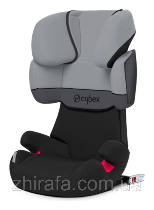 Детское автокресло Cybex Solution X-Fix Cobblestone  2/3 (15-36 кг) 3-12 лет