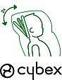 Детское автокресло Cybex Solution X-Fix Cobblestone  2/3 (15-36 кг) 3-12 лет, фото 6
