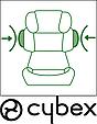 Детское автокресло Cybex Solution X-Fix Cobblestone  2/3 (15-36 кг) 3-12 лет, фото 8
