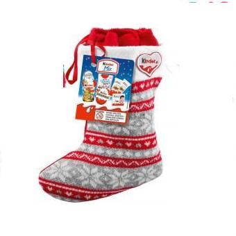 Набор сладостей Kinder Mix Серый носок 218 g