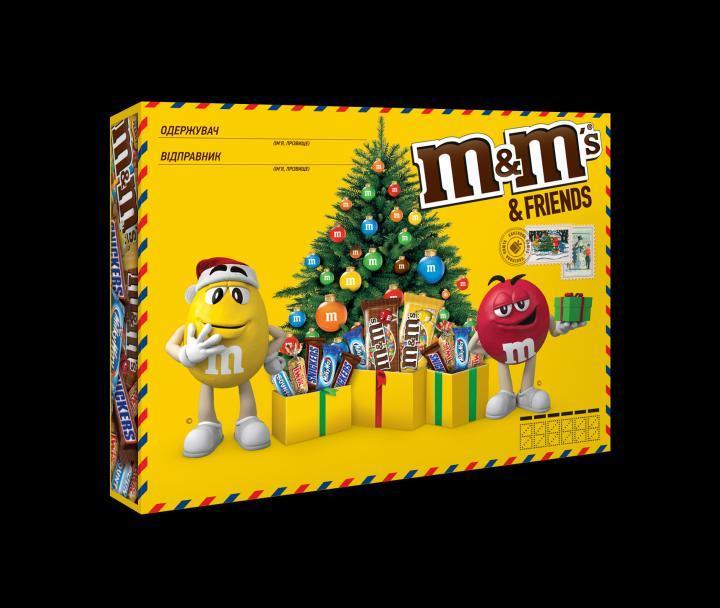 Набор сладостей M&M's Friends 230 g